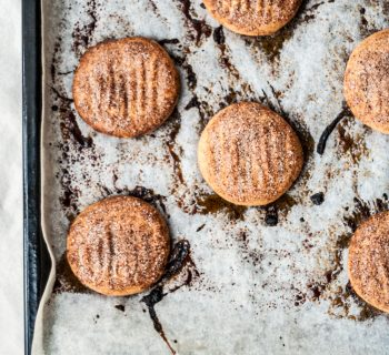 Our favourite cinnamon shortbreads