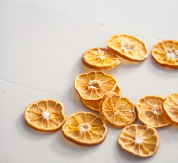 On drying clementine slices